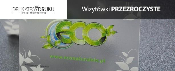 Wizytówki przezroczyste | Druk wizytówek PVC