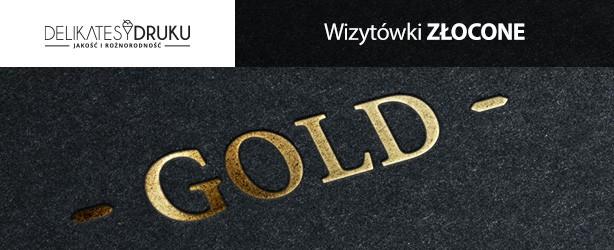 Wizytówki złocone | Druk wizytówek | Wizytówki z hotstampingiem