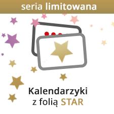 Kaledarzyki z folią STAR