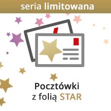 Pocztówki z folią STAR