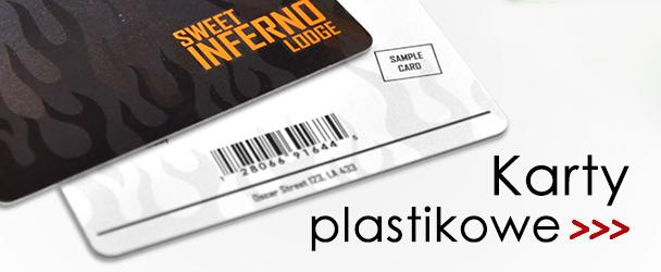karty plastikowe, druk kart plastikowych