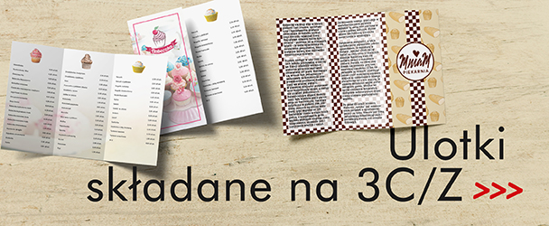Folder reklamowy, folder 3x A4, folder 3x A5