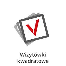 wizytówki kwadratowe