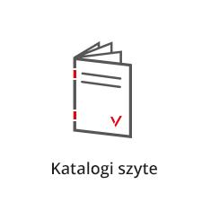 katalogi szyte, druk katalogów,