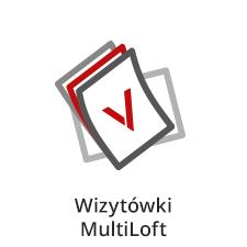wizytówki multiloft, wizytówki trójwarstwowe