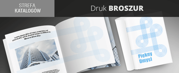 Druk broszur