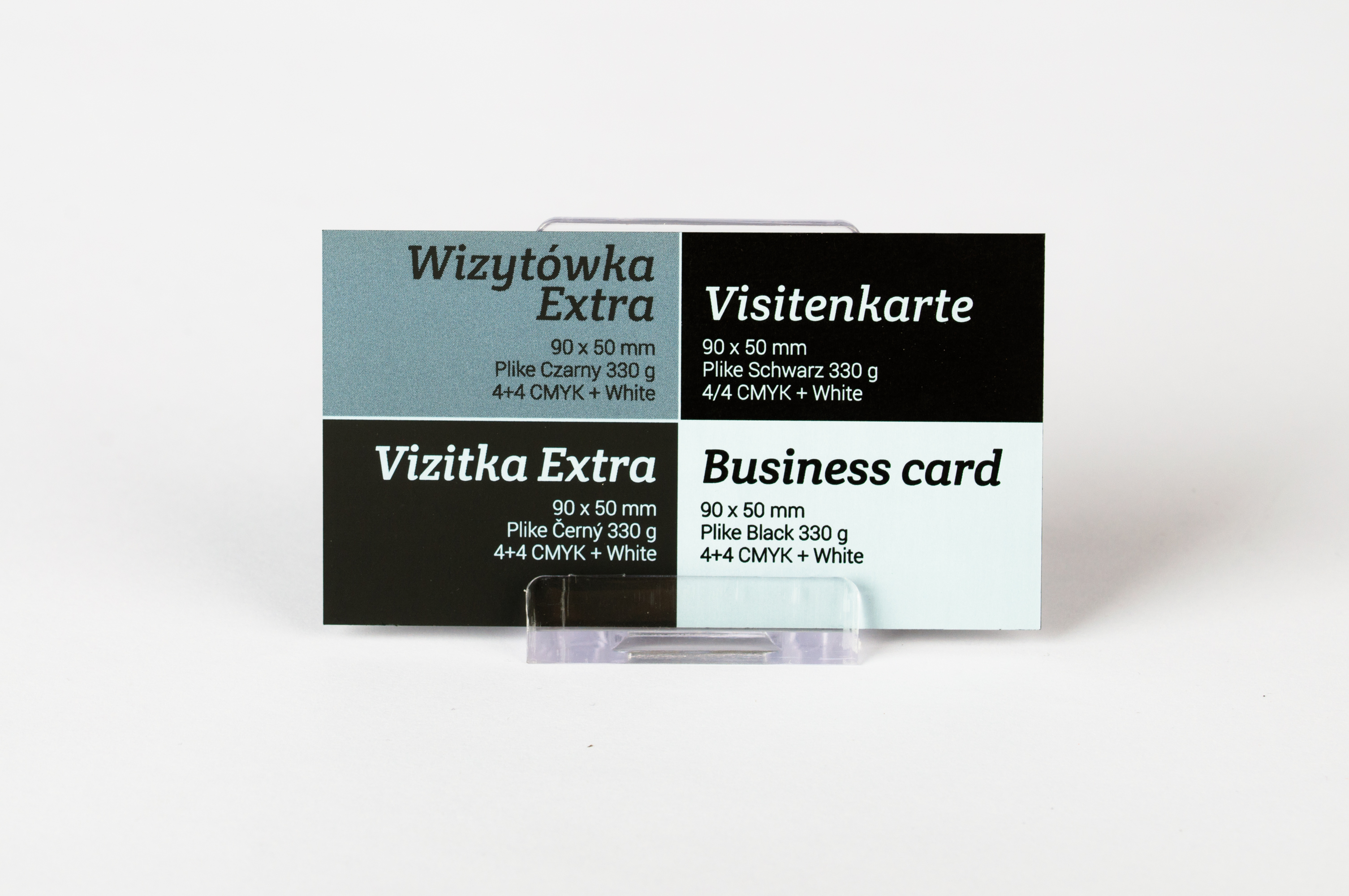Wizytówki Wzory Druk Wizytówek Klasycznych Viperprint Pl