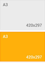 format 420x297 mm