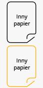 Papier inny