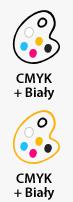 CMYK + Biały