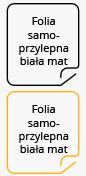 Folia samoprzylepna MACtac Digital (bia�a, matowa)