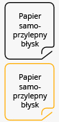 Papier samoprzylepny b�ysk
