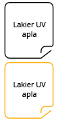 Lakier UV - apla
